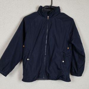 Boys gap navy blue jacket size 8